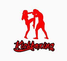 Kickboxing Female Knee Red T-Shirt