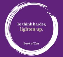 Think Harder Humor Quote by bookofzen