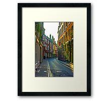 Low Petergate - York Framed Print