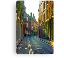 Low Petergate - York Canvas Print