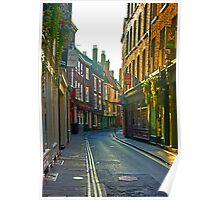Low Petergate - York Poster