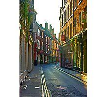 Low Petergate - York Photographic Print