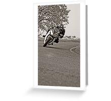 Honda CBR1000 Fireblade  Greeting Card