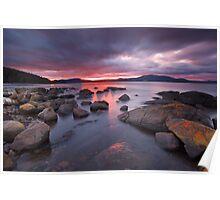 Sunrise Near Ninepin Point, Tasmania #12 Poster
