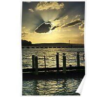 Corinella Sunset Poster