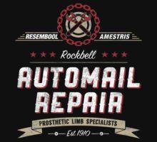 Rockbell Automail Repair [MK2] by Art-Broken