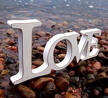 Love amongst pebbles. by BonnieRose