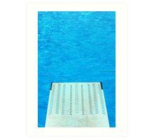 Diving Board 24 Art Print