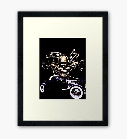 Bad A$$ Framed Print