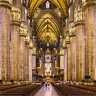 Milan Cathedral, ITALY - Interior Decoration: 1575-1585 by Bruno Beach