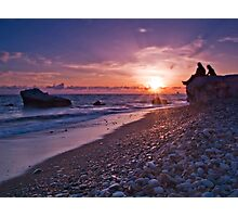 Waiting For The Sunset. Photographic Print