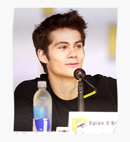 Dylan O'Brien Comic Con picture Poster