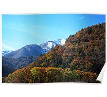 View from Shirakawa-go Poster