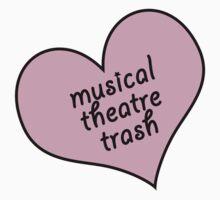 Musical theatre trash Kids Tee