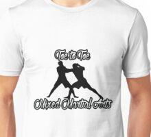 Toe to Toe Mixed Martial Arts Black  Unisex T-Shirt