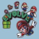 Mario Evolving by Charles Caldwell