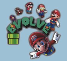Mario Evolving by Charles Caldwell