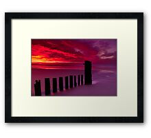 """""""Oceanside, Easter Morn"""" Framed Print"""