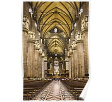 Milan Cathedral, ITALY - Interior Decoration: 1575-1585 Poster