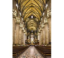 Milan Cathedral, ITALY - Interior Decoration: 1575-1585 Photographic Print