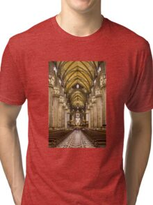 Milan Cathedral, ITALY - Interior Decoration: 1575-1585 Tri-blend T-Shirt
