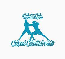Toe to Toe Mixed Martial Arts Blue T-Shirt
