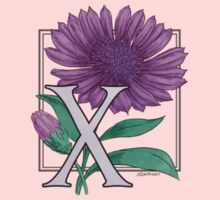 X is for Xeranthemum patch Kids Clothes