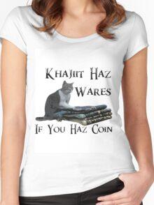 Khajiit Haz Wares - V.2 Women's Fitted Scoop T-Shirt