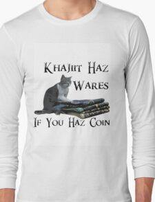 Khajiit Haz Wares - V.2 Long Sleeve T-Shirt