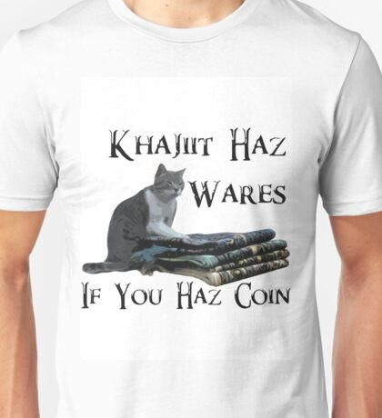 Khajiit Haz Wares - V.2 Unisex T-Shirt