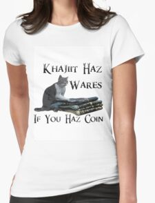 Khajiit Haz Wares - V.2 Womens Fitted T-Shirt