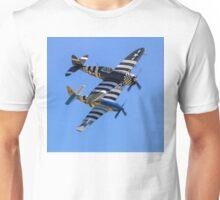 "TP-47D ""Snafu"" & P-51C ""Princess Elizabeth"" Unisex T-Shirt"