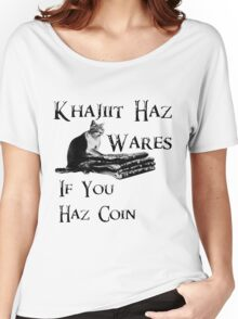 Khajiit Haz Wares - V.1 Women's Relaxed Fit T-Shirt