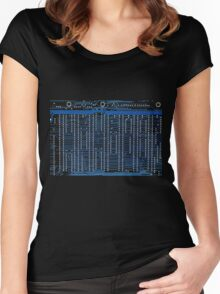 Computer circuits Women's Fitted Scoop T-Shirt
