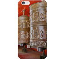 Prayer Wheel iPhone Case/Skin