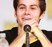 Dylan O'Brien Comic Con Smile by hotteaissy