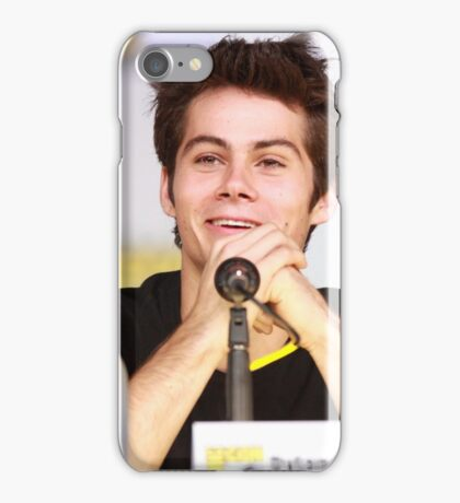 Dylan O'Brien Comic Con Smile iPhone Case/Skin
