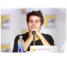 Dylan O'Brien Comic Con Smile Poster