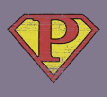 Super Vintage P Logo by Adam Campen