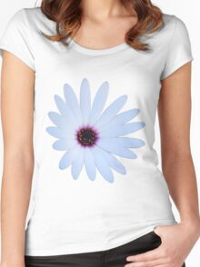 White Daisy Women's Fitted Scoop T-Shirt