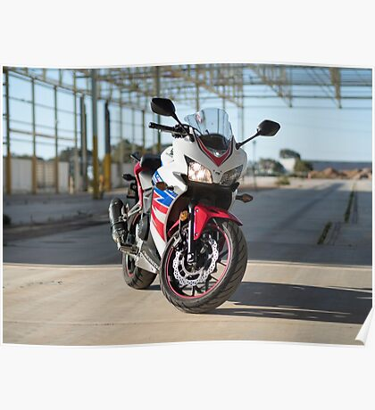 Honda CBR500R Poster