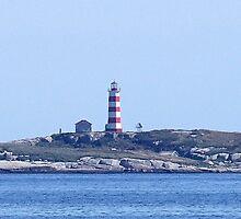 Sambro Island Lighthouse by George Cousins