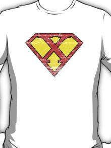 Vintage X Letter T-Shirt