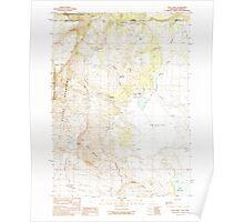 USGS Topo Map California Lake Annie 292035 1990 24000 Poster