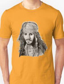 Captain Jack Sparrow (b/w) T-Shirt