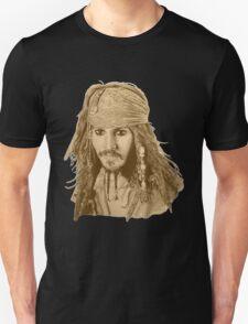 Captain Jack Sparrow (sepia) T-Shirt