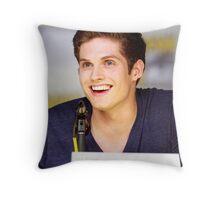 Daniel Sharman Comic Con Throw Pillow