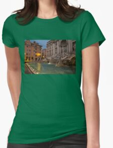 Rome's Fabulous Fountains - Trevi Fountain at Dawn T-Shirt