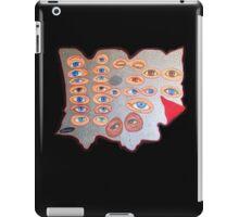 Eyes peering from behind the shield iPad Case/Skin
