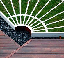 zen garden by Roslyn Lunetta